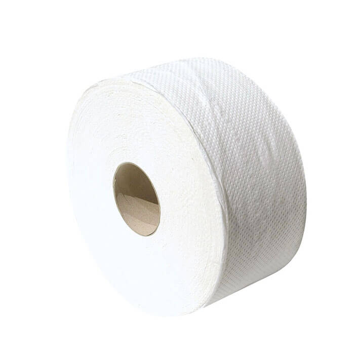 Jumbo toilet paper roll 190m 2 ply cell