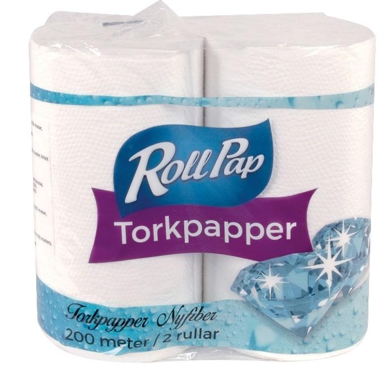 Utěrky Torkpapper bílé